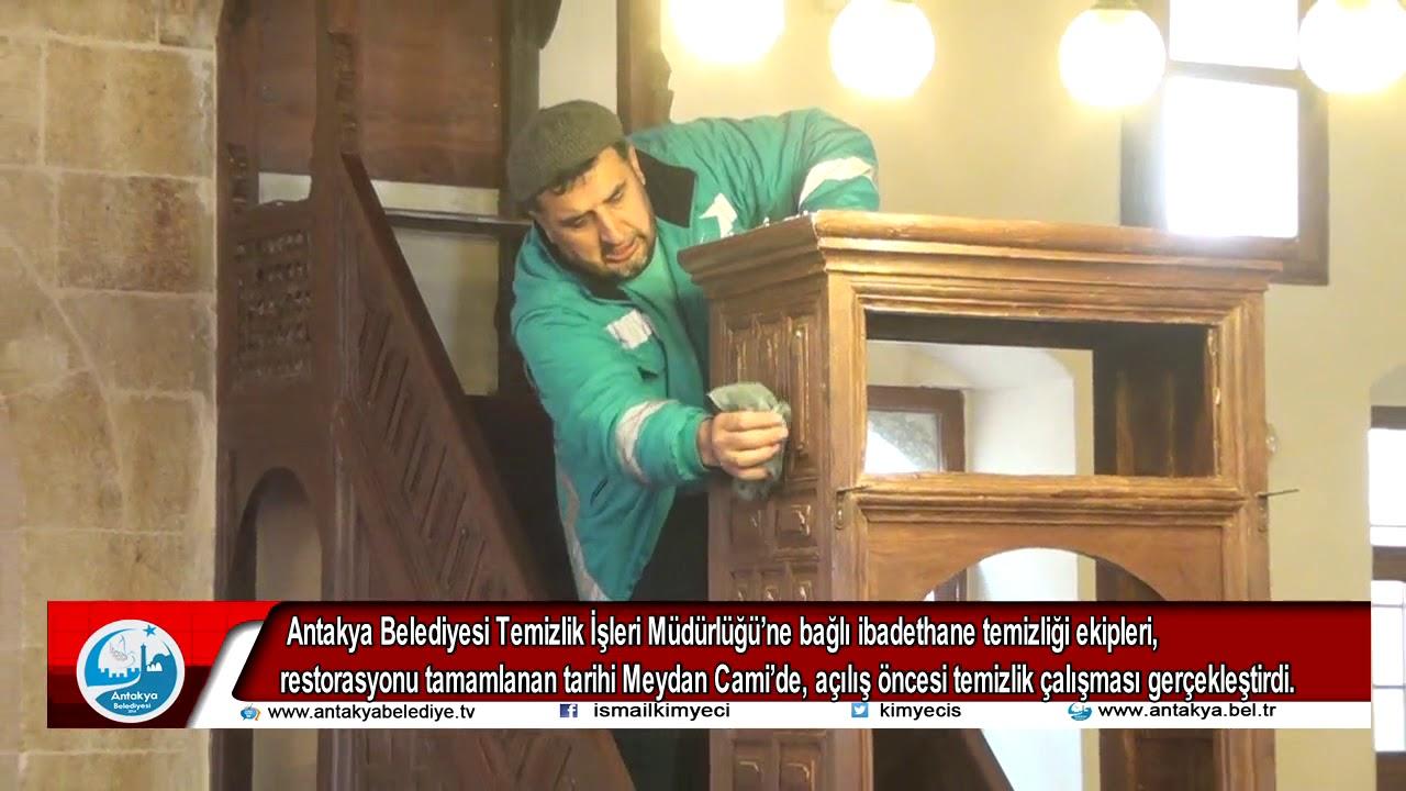 MEYDAN CAMİ'DE, AÇILIŞ ÖNCESİ ...