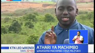 Wenyeji wa eneo la Ngong, wana hofu kuhusu afya yao kutokana na mlipuko wa machimbo