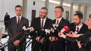 ✪ NA ŻYWO ✪ Pierwsza konferencja Konfederacji po wyborach do Sejmu
