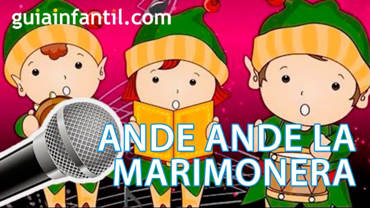 Ande ande la marimorena. Karaoke de Navidad