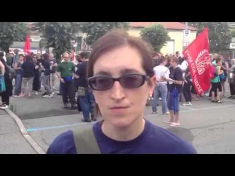 Da Trento per protestare contro la Whirlpool