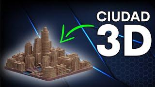 Impresión 3D, imprime tu propia maqueta de tu pueblo o ciudad