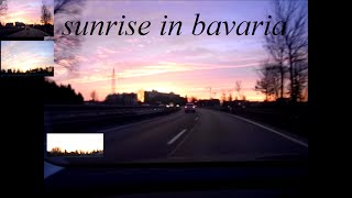 preview picture of video 'Beautiful sunrise in Bavaria Germany'