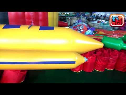 Надувной зимний банан размер 6,4x1,3x0,7 м от