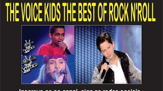 THE VOICE KIDS THE BEST OF ROCK N