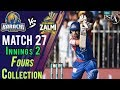 watch Karachi Kings  Fours   Peshawar Zalmi Vs Karachi Kings   Match 27   15 March   HBL PSL 2018