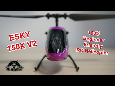 Beginner Friendly ESKY 150 V2 Mini Electric RC Helicopter
