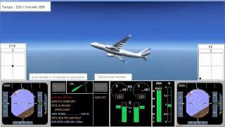 FDR - Air France Stalling An A330 (Air France 447)