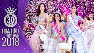 Phần thi ứng xử Top 5 Hoa Hậu Việt Nam 2018, Trần Tiểu Vy, Bùi Phương Nga, Nguyễn Thị Thúy An