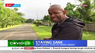 KTN News Anchor Mike Gitonga\'s son leads in bicycle racing
