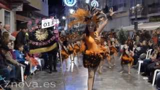 preview picture of video 'Desfile Carnaval Cartagena 2014'