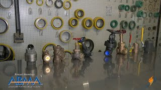 Different Types of Valves in the Boiler Room