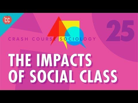 The Impacts of Social Class: Crash Course Sociology #25