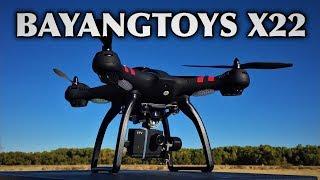 BAYANGTOYS X22 1080P WiFi FPV RC Drone 3-axis Gimbal