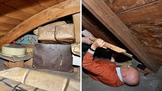 This Man Found a Secret Compartment in His Attic What Was Inside Incredible