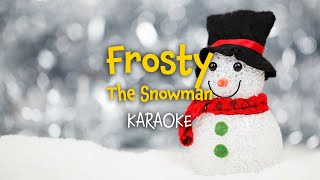 Frosty the Snowman  | Christmas Carols - lyrics video for karaoke