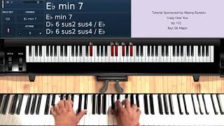 Crazy Over You (by 112) - Piano Tutorial