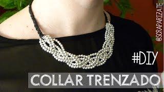 DIY: Collar trenzado - Braided necklace