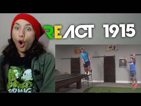 React 1915 Water Bottle Flip Edition | Dude Perfect