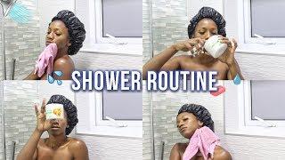 DRUGSTORE SHOWER ROUTINE! (Exfoliate, Feminine Hygiene, No Dry Skin, Skincare)   Annesha Adams