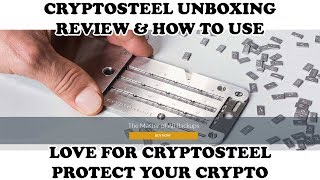 Cryptosteel unboxing Review and How to Use