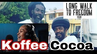 COCOA TEA CALLS KOFFEE ON STAGE AND MASH BUJU BANTON LONG WALK TO FREEDOM CONCERT