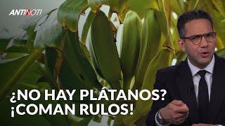 Hipólito Dice Coman Rulos y Guineítos Si No Hay Plátanos | Antinoti
