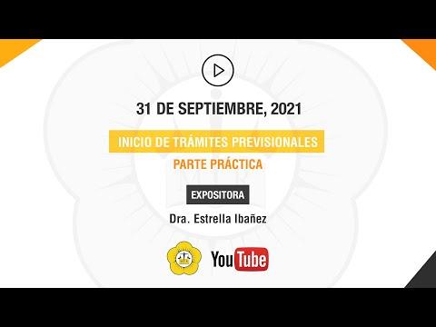 INICIO DE TRÁMITES PREVISIONALES. PARTE PRÁCTICA - 31 de Agosto 2021