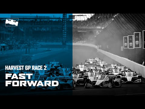 インディ ハーベストGP 2020 のレース2を30分にまとめたハイライト動画