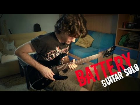 Metallica - Battery [Solo cover] FullHD