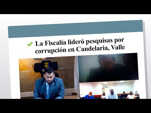 La Fiscalía lideró pesquisas por corrupción en Candelaria, Valle