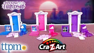 Opening Fairy Doors Toys Playset - Luna, Willow & Meadow [REVIEW] | Cra-Z-Art