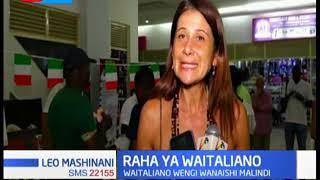 Kutakua na hafla ya utamaduni, Waitaliano wengi wanaishi Malindi