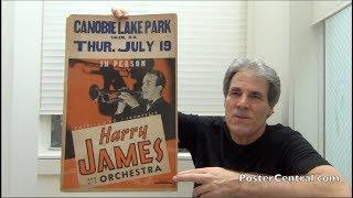 Harry James Big-Band Jazz Concert Posters 1945 & 1953