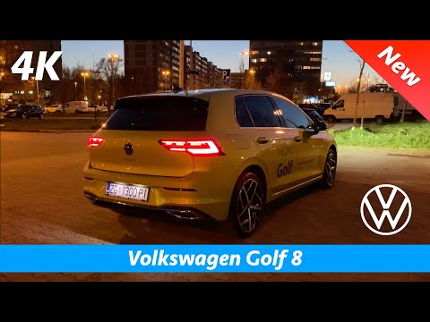 Volkswagen Golf 8 2020 Style - Quick look in 4K | Interior - Exterior (Day - Night)