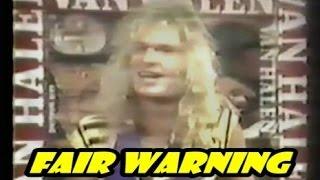 FAIR WARNING - David Lee Roth 1981 interview
