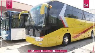 بعد غياب لعقود... باص المدينة يحيي النقل العمومي بطرابلس الليبية