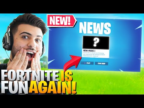Fortnite was getting BORING... until they added THIS!