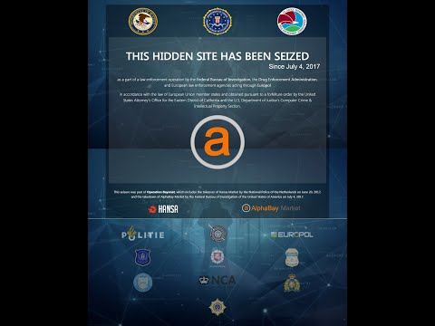 How a global sting took down two major dark web markets