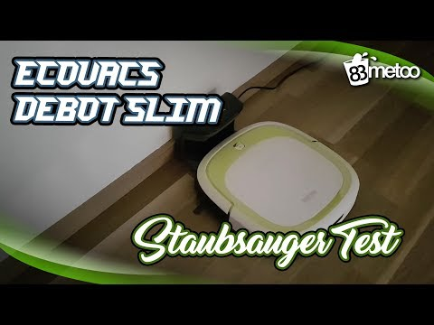 Ecovacs Robotics Deebot Slim Test | Günstiger Staubsauger Roboter Erfahrungen | 83metoo