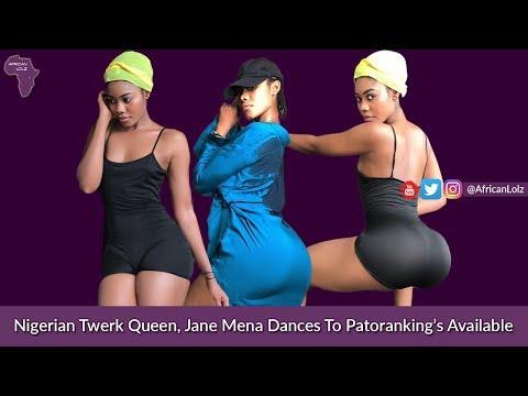 Patoranking - Available | Nigerian Twerk Queen Jane Mena | Naija Music & Twerking Booty Dance