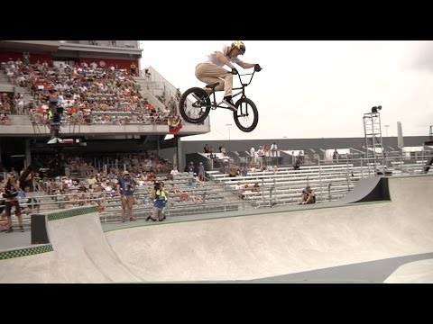 BMX: X Games 2014 - Chase Hawk's Medal Run In Park