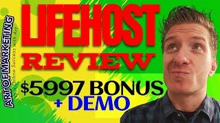 LifeHost Review, Demo, $5597 Bonus, Life Host Review