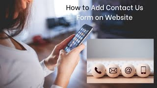 How To Add a Contact Form on Your Blog or Website