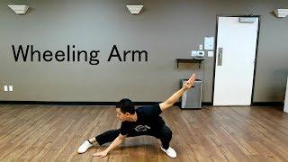 Wushu Fundamentals - Wheeling Arm TUTORIAL