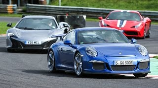 [Autocar] Porsche 911 GT3 vs Ferrari 458 Speciale vs McLaren 650S - supercar showdown