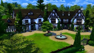The Sims 4    Speed Build    Bakewell Manor