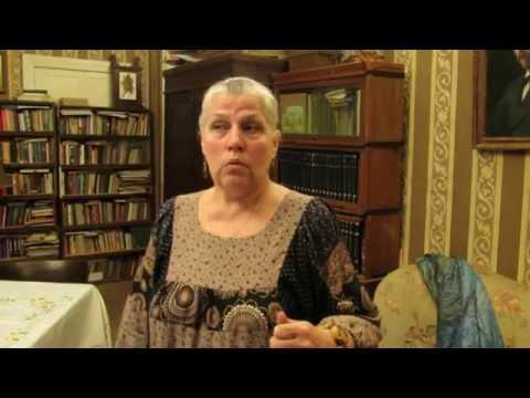 Татьяна Телешова - о мемориальной квартире Н. Д. Телешова. онлайн видео