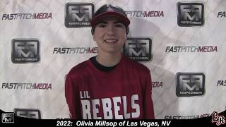 2022 Olivia Millsop Speedy Slapper Outfield Softball Skills Video - Lil Rebels