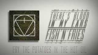 Video There's Blood In My Ears - Fish'n'Fries [Official Lyric Video]